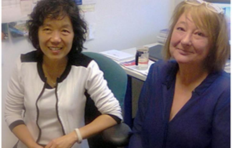 Corine ontmoet dr. Mei Wang